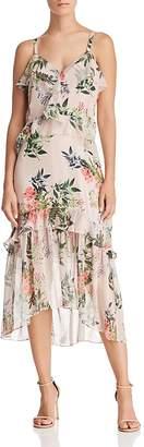 Parker Josie Floral Silk Dress