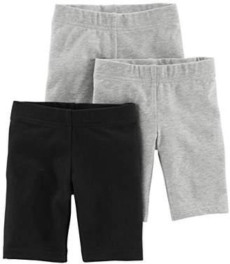 Carter's Simple Joys by Toddler Girls' 3-Pack Bike Shorts