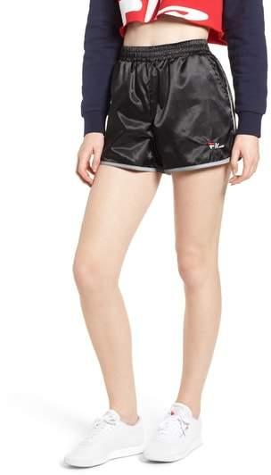 Serena Satin Track Shorts