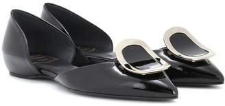 Roger Vivier Dorsay patent leather ballerinas
