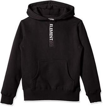 Element (エレメント) - [エレメント] [ キッズ ] 保温 スウェット パーカー (プルオーバー) [ AI026-012 / Dazzle Hood Parka ] かわいい 子供服 トレーナー BLK_ブラック US 150 (日本サイズ150 相当)