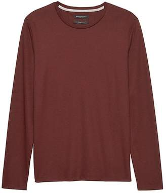 Banana Republic Luxury-Touch Crew-Neck T-Shirt