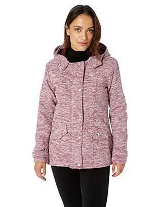 Yoki Women's Sherpa Lined Hip Length Fleece Jacket