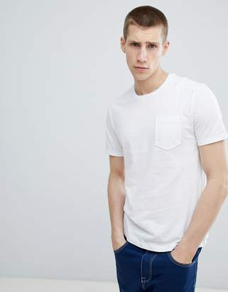 Benetton Pocket T-Shirt In White