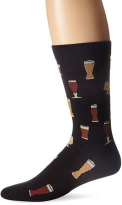 K. Bell K.Bell Label Men's Craft Beers Crew Sock
