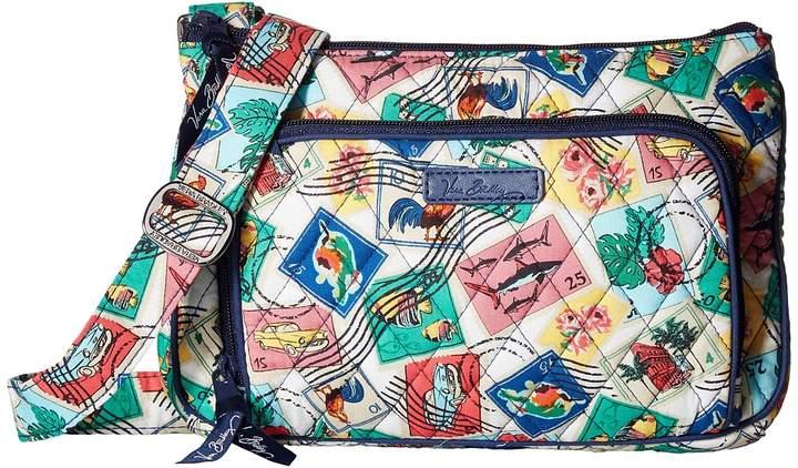 Vera Bradley Little Hipster Cross Body Handbags - CUBAN STAMPS - STYLE