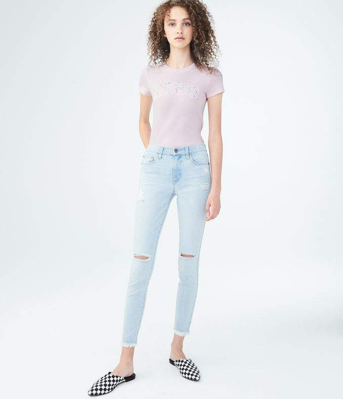 Flex Effect High-Waisted Ankle Jegging