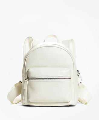 Pebbled Leather Backpack $398 thestylecure.com