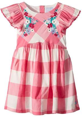 Joules Kids Woven Party Dress Girl's Dress