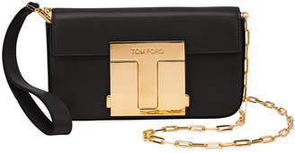 Tom Ford Shiny Goat T-Clasp Mini Crossbody Bag
