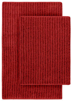 Wildon Home Devinne 2 Piece Red Bath Rug Set