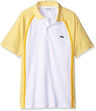Lacoste Men's Short Sleeve Made in France Pique Reg Fit Polo