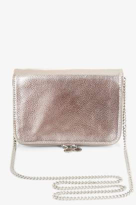 BCBGeneration Metallic Chain Crossbody