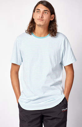 Pacsun Colombo Striped Scallop T-Shirt