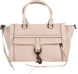 Rebecca Minkoff Leather M.A.C. Satchel $175 thestylecure.com