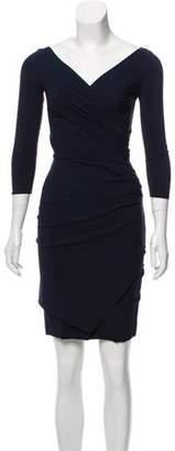 Chiara Boni Pleated Mini Dress