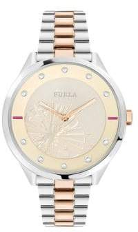 Furla Metropolis Stainless Steel Bracelet Watch