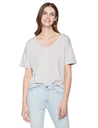 Sorbet Ruby Diva Women's Loose Tee with Tie at Back S