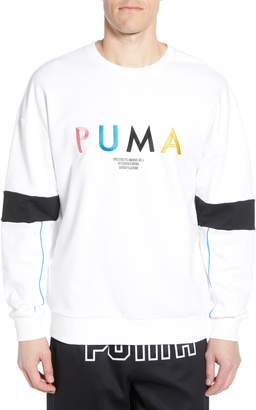 Puma Last Dayz Embroidered Crewneck Sweatshirt