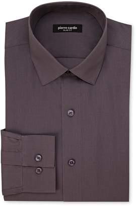 Pierre Cardin Slim Fit Charcoal Dress Shirt