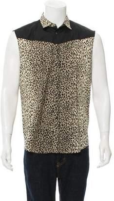 Saint Laurent 2013 Babycat Button-Up Shirt
