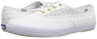 Keds Champion Embroidered Triangle Women's Lace up casual Shoes