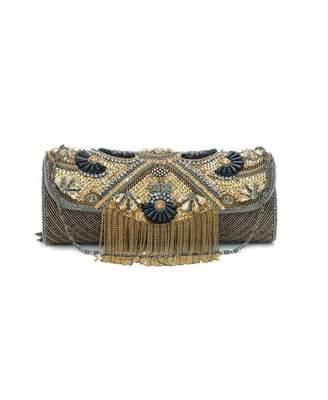 Forever Unique Tassle Bead Clutch Bag
