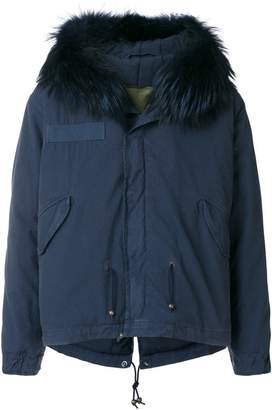 Mr & Mrs Italy short parka coat