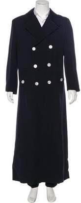 Dolce & Gabbana Double-Breasted Wool Coat w/ Tags