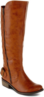 ARIZONA Arizona Cody Womens Quilted Boots - Wide Calf $90 thestylecure.com