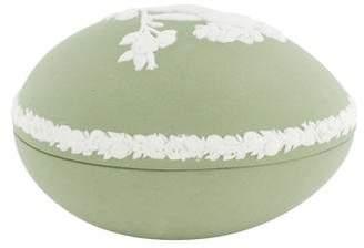 Wedgwood Jasperware Egg-Shaped Box