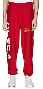 Heron Preston Men's Cotton Fleece Jogger Pants - Red