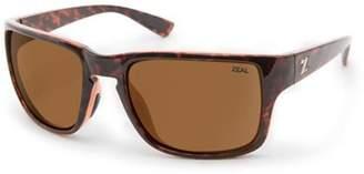Zeal Optics Unisex Cascade Tortoise/Copper Polarized Lens Sunglasses