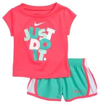 Nike Dry Just Do It Tee & Shorts Set