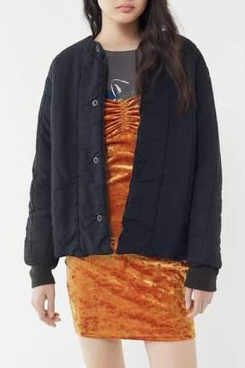 Urban Renewal Vintage Overdyed Quilted Liner Jacket