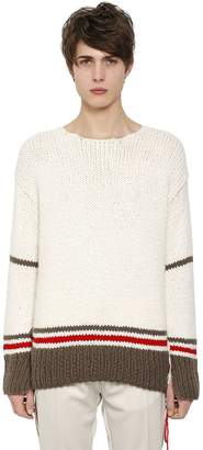 Maison Margiela Wool Blend Knit Sweater