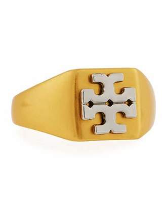 Tory Burch Block T Logo Ring