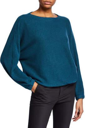 Club Monaco Mogan Ribbed Scoop-Neck Pullover Sweater