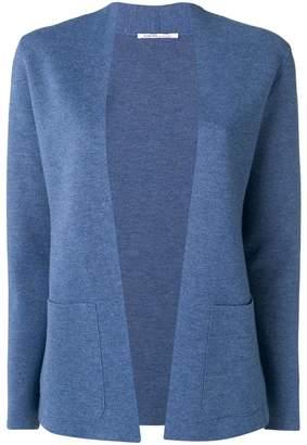 Agnona collarless knitted blazer