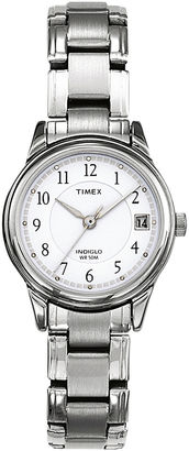 Timex Elevated Classic Sport Chic Womens Stainless Steel Bracelet Watch T292719J $51.96 thestylecure.com