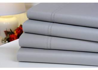 Oxford Collection 1000 Thread Count 100% Egyptian Cotton Sheet Set with Double Hemstitch