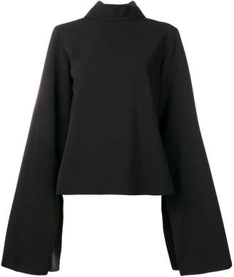 Ports 1961 loose-fit slit blouse