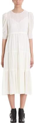 See by Chloe White Viscose Dress