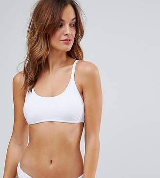 South Beach Mix And Match Clean Cami Bikini Top