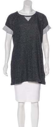 Calvin Klein Short Sleeve Sweatshirt Tunic