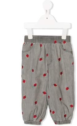 Stella McCartney ladybug print jeans
