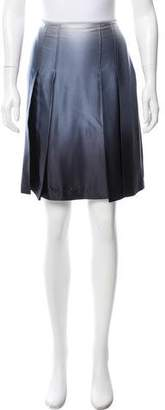 Calvin Klein Silk Ombré Skirt