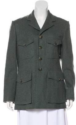 Ralph Lauren Wool Herringbone Blazer