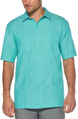 Cubavera Two-Pocket Pintuck Shirt