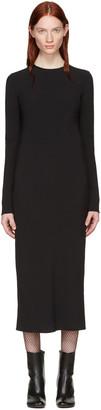 Haider Ackermann Black Bias Dress $1,080 thestylecure.com